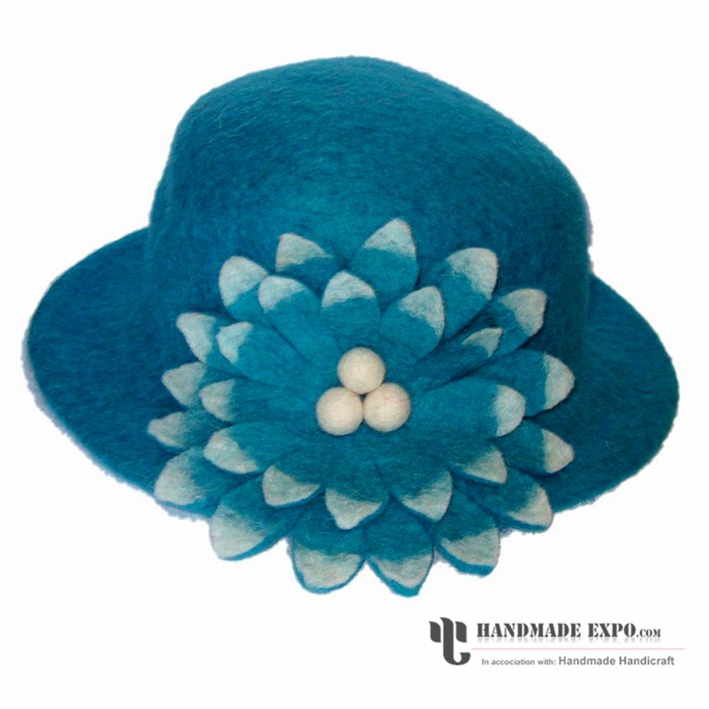 a0066d48acc Nepali Felt Product   Sunflower Hat