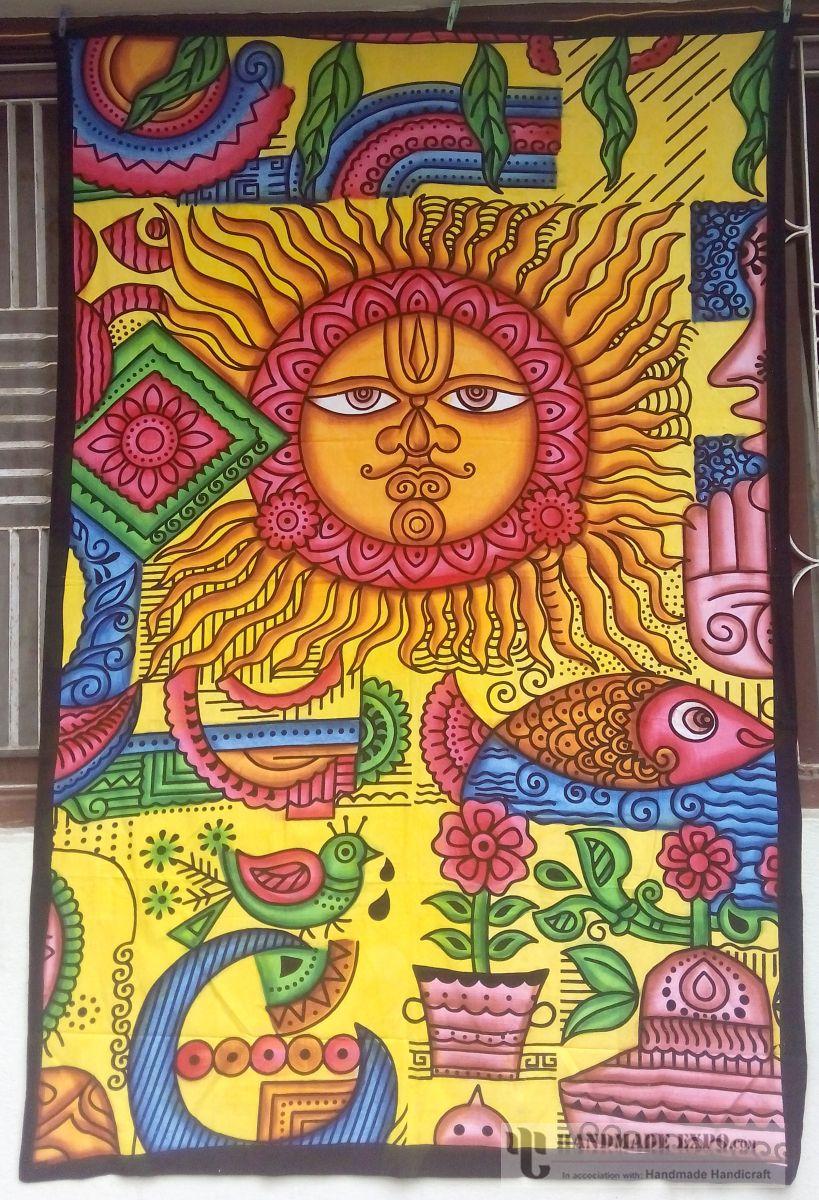 HME11876. Enlarge. Batik Design Bed Sheet