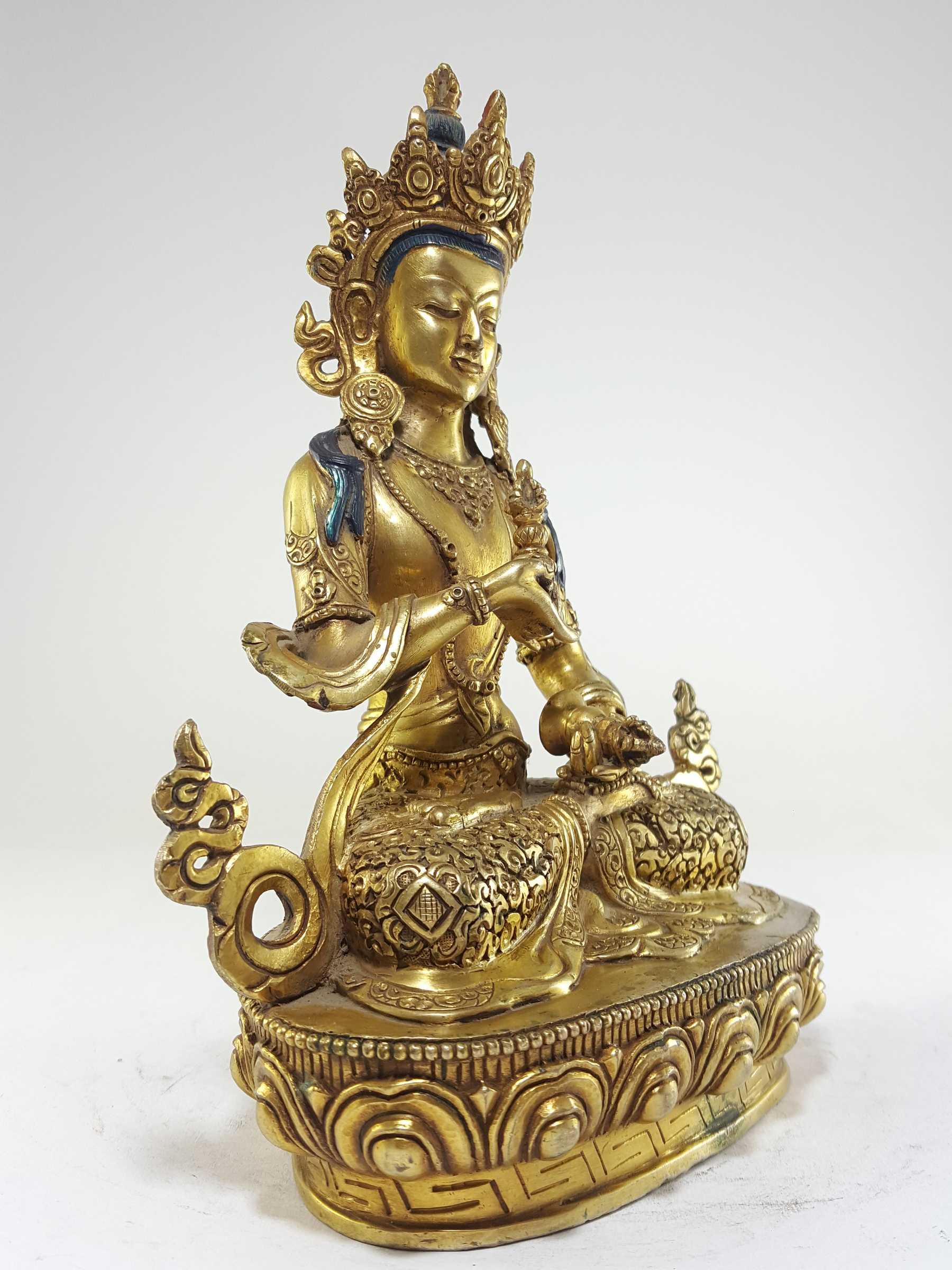 35738b02ab3 Nepali Statues   Vajrasattva Statue Full Gold plated