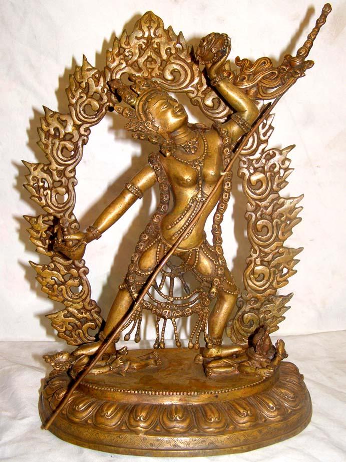 Nepali Statues : Vajrayogini, USD: $400, Size :30 cm