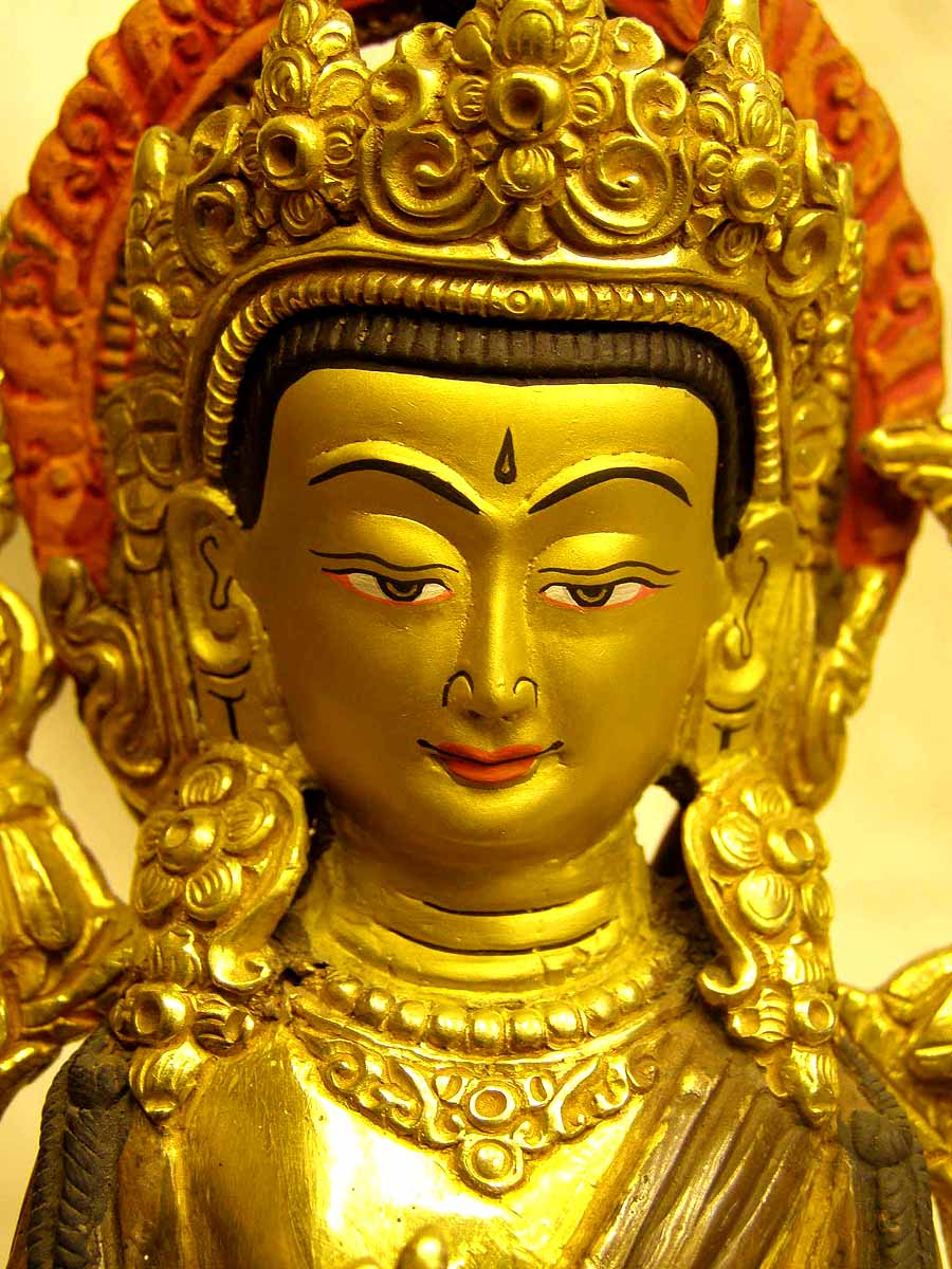 Nepali Statues Maitreya Buddha Usd 120 Size 15 Cm