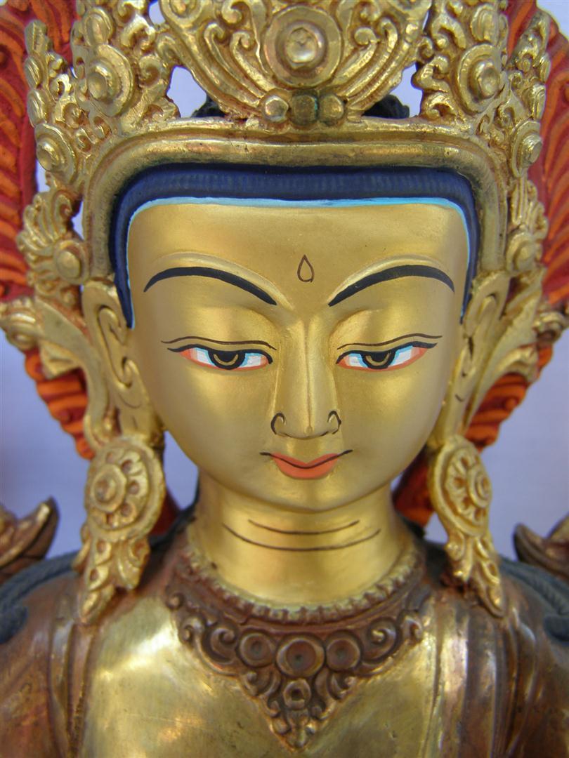 Nepali Statues Maitreya Buddha Usd 350 Size 36 Cm