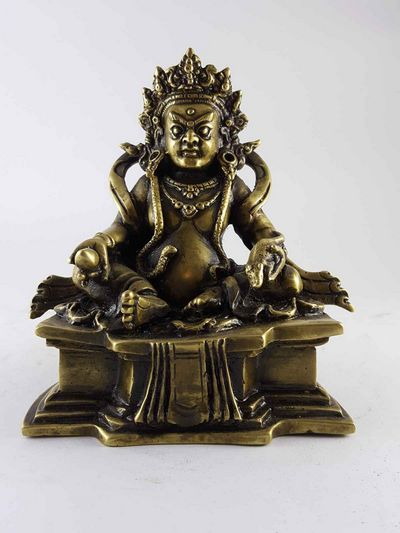 Brass Kuber Jambala high Quality Statue-13397