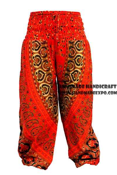 Cotton printed Trouser-9216